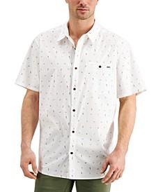 Men's Birds Stretch Plaid Shirt