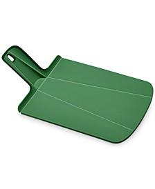Chop2Pot Plus Small Folding Chopping Board, Forest Green