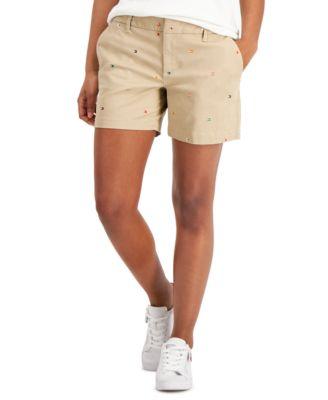 Flag Bermuda Shorts