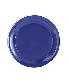 Vietri Chroma Blue Dinner Plate