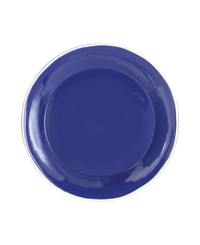 VIETRI Chroma Blue Dinner Plate
