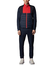 BOSS Men's V_Paros Water-Repellent Gilet