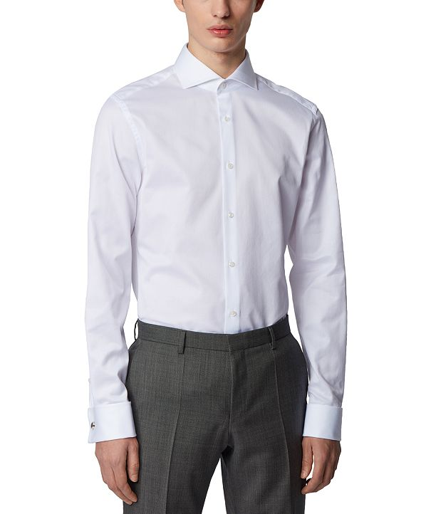 Hugo Boss BOSS Men's T-Yacob Slim-Fit Shirt
