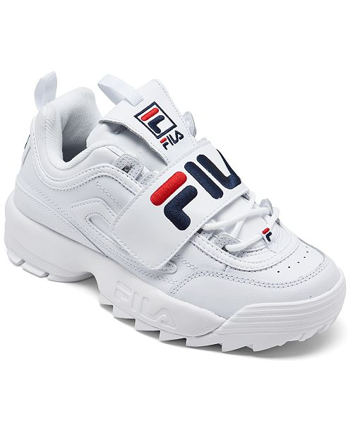 Fila Women's Disruptor II Applique Casual Athletic Sneakers from Finish Line