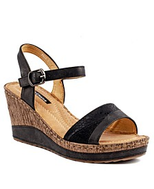 Rozz Wedge Sandal