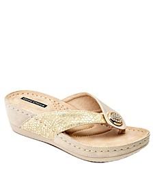 Dafni Wedge Sandal