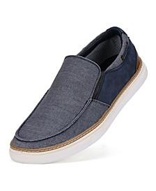 Men's Canvas Slip-on Boat Shoes