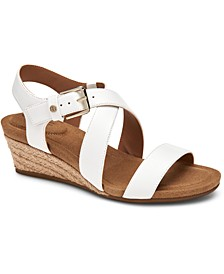 Blythee Memory-Foam Wedge Sandals, Created for Macy's