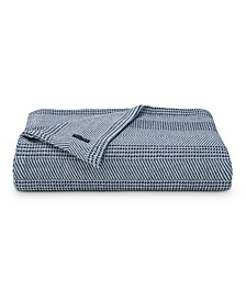Chevron Stripe Twin Blanket
