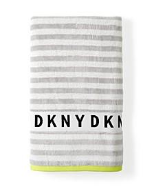 "Ticker Tape 28""x 54"" Bath Towel"