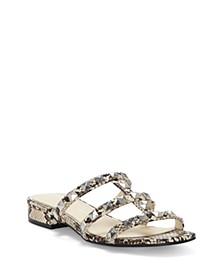 Caira Studded Flat Sandals