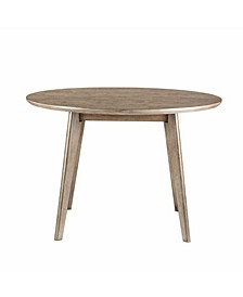 Alden Bay Modern Round Wood Dining Table