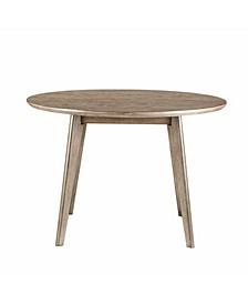 Alden Bay Modern Round Wood Dining Table