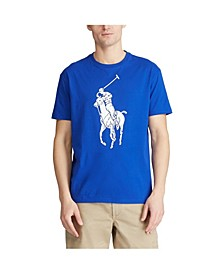 폴로 랄프로렌 Polo Ralph Lauren Mens Classic-Fit Big Pony T-Shirt