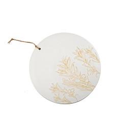 "12"" Ceramic Cheese Board - Botanical Sketch"