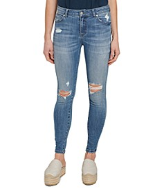 Everyday Destruction Skinny Ankle Jeans