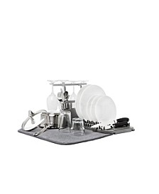 Udry Dish Rack with Dry Mat