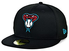 Kids Arizona Diamondbacks 2020 Clubhouse 59FIFTY-FITTED Cap