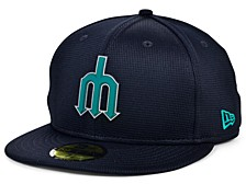 Kids Seattle Mariners 2020 Clubhouse 59FIFTY-FITTED Cap