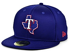 Kids Texas Rangers 2020 Clubhouse 59FIFTY-FITTED Cap