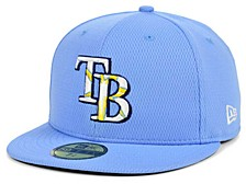 Tampa Bay Rays 2020 Men's Batting Practice Fitted Cap