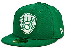 Milwaukee Brewers 2020 Men's St. Pattys Day Fitted Cap