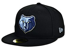 Memphis Grizzlies Men's All Around Fitted Cap