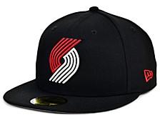 Portland Trail Blazers Men's Fitted Cap