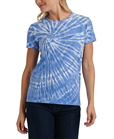 Cotton Tie-Dyed T-Shirt