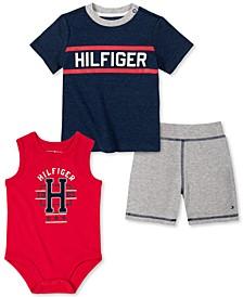 Baby Boys T-Shirt and Bodysuit Pants Set