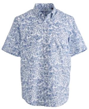 Tasso Elba Linares Printed Shirt, Created for Macy's