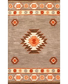 Florence Shyla Abstract Sage 2' x 3' Area Rug