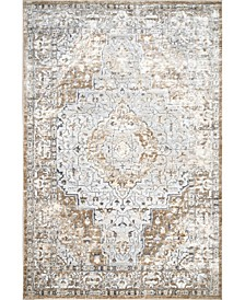 Cyme Thea Medallion Beige 5' x 8' Area Rug