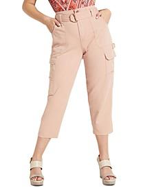 Zandaya Cropped Utility Pants