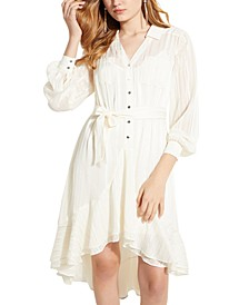 Eveta High-Low Shirtdress