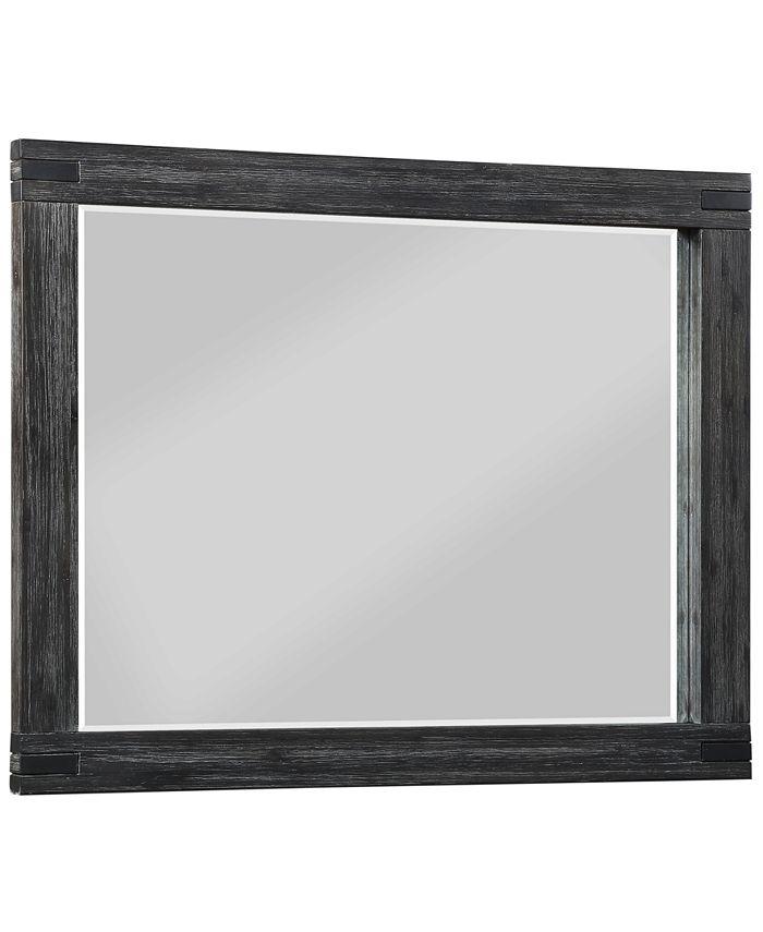 Furniture - Avondale Graphite Dresser Mirror