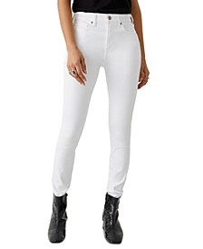 Halle High-Rise Skinny Jeans