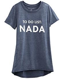 Juniors' Nada Graphic T-Shirt