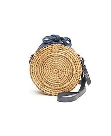 Women's Esme Straw Canteen Bag