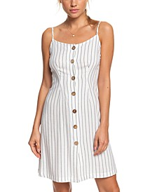 Juniors' Sweet About Me Striped Dress