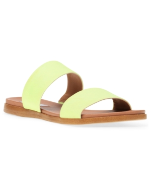 Steve Madden WOMEN'S DUAL SLIDE SANDALS