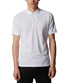 BOSS Men's Paule 2 White Polo Shirt