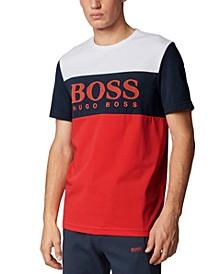 BOSS Men's Tee 6 Bright Red T-Shirt
