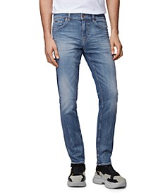 BOSS Men's Charleston Medium Blue Jeans