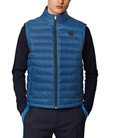 BOSS Men's Chroma Navy Gilet