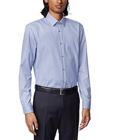 BOSS Men's Isko Navy Shirt