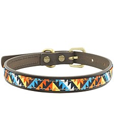 Ziggy Leather Dog Collar, Medium