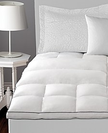Deluxe Lumbar Feather Bed Mattress Toppers