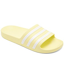 Women's Originals Adilette Aqua Slide Sandals from Finish Line