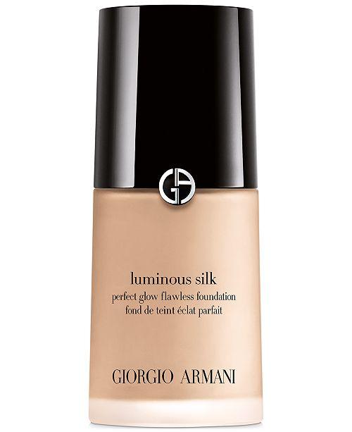 Giorgio Armani Luminous Silk Foundation, 1 oz.